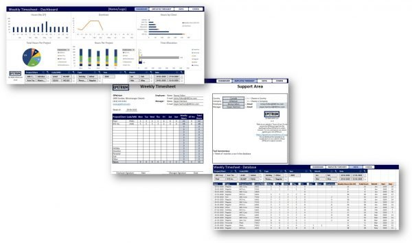 Premium Weekly Timesheet solution overview